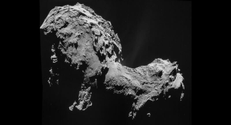 Комета 67P оказалась состоящей из двух комет