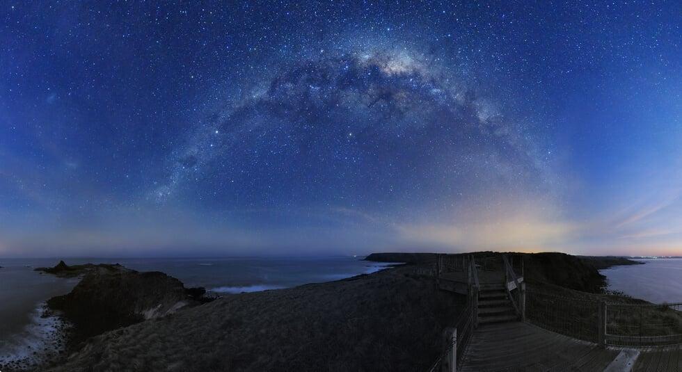 Около 80 процентов населения Земли не видит звезд на ночном небе