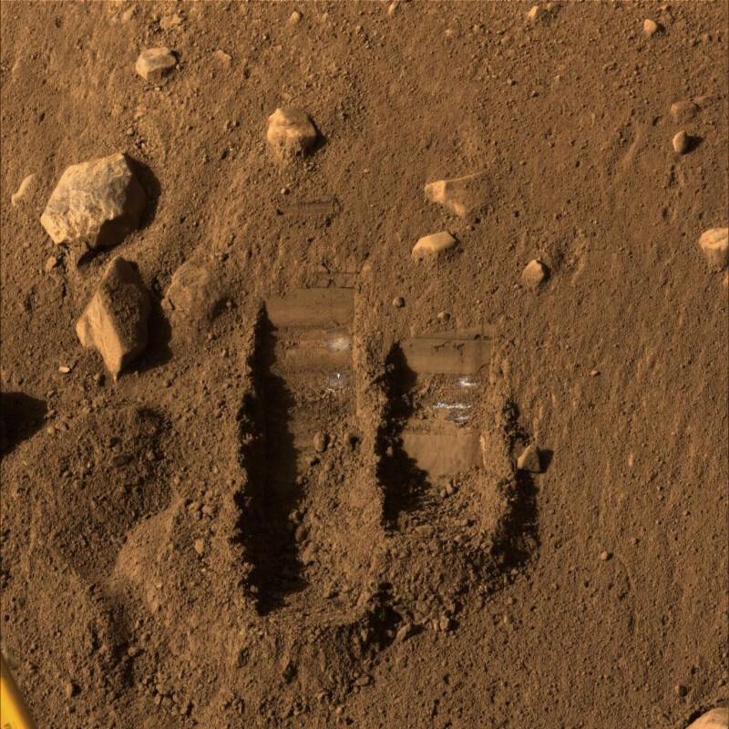 Сорок лет назад мы высадились на марс и нашли… Жизнь?