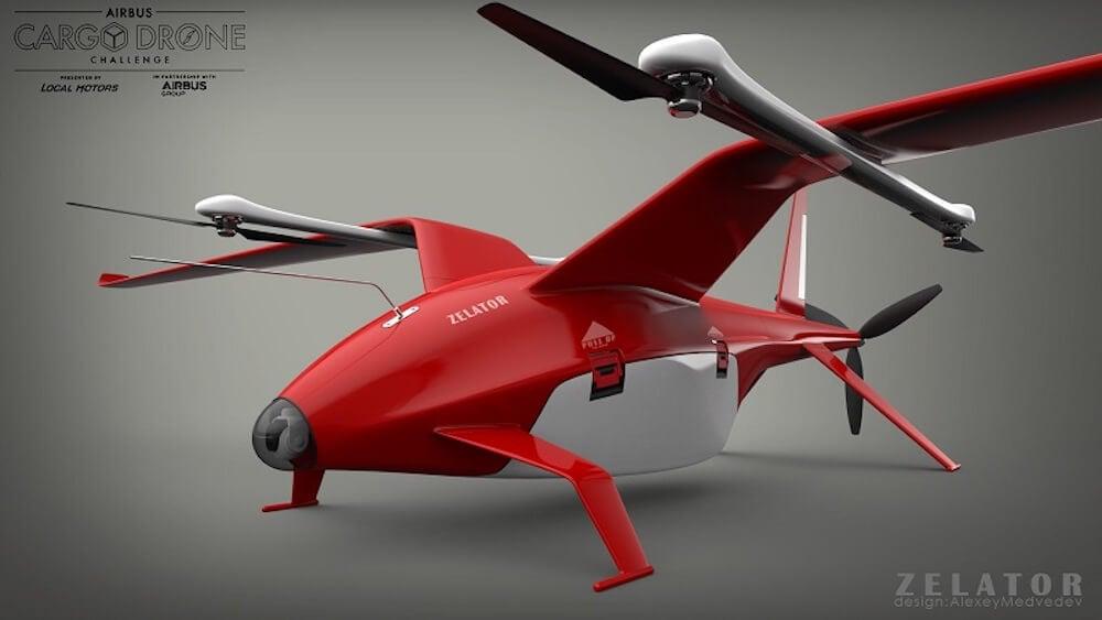 Российский проект 3D-печатного беспилотника приглянулся концерну Airbus