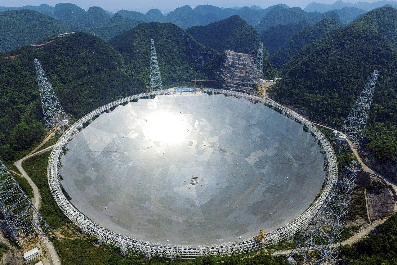 В Китае завершено строительство телескопа