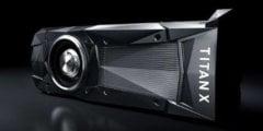 NVIDIA представила сверхмощную видеокарту NVIDIA Titan X
