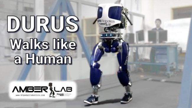 Ещё один робот научился ходить, как настоящий человек