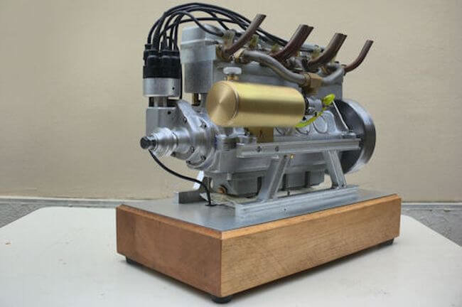 Удивительные миниатюры реальных двигателей