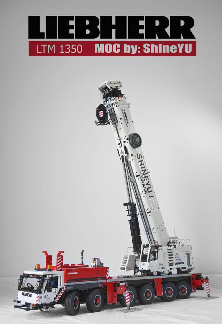MOC Fully RC Liebherr LTM 1350 (7)