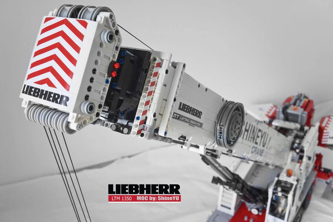 MOC Fully RC Liebherr LTM 1350 (8)