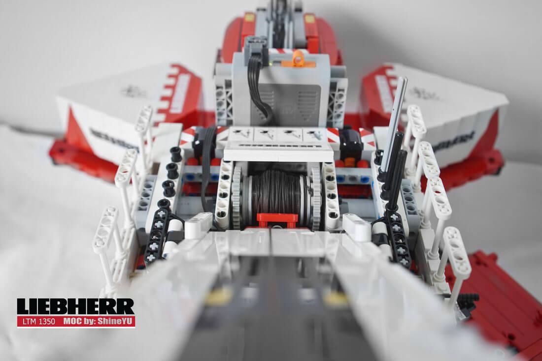 MOC Fully RC Liebherr LTM 1350 (9)
