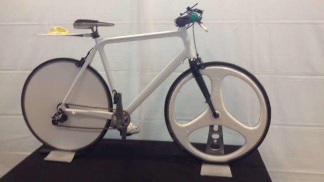 На 3D-принтере напечатан самый высокотехнологичный велосипед в мире