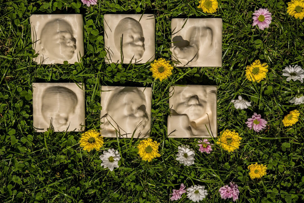 3D-печать позволит слепым матерям впервые «увидеть» своих ещё не родившихся детей