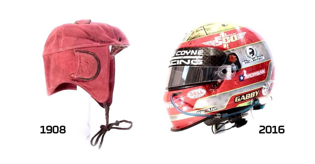 Эволюция гоночных шлемов за последние 100 лет