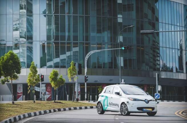 В Сингапуре появилось первое в мире такси беспилотного типа