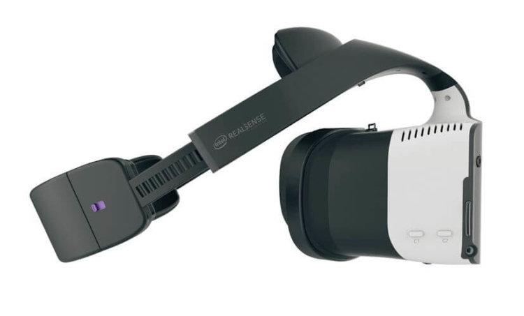 Intel представила гарнитуру совмещённой реальности Project Alloy