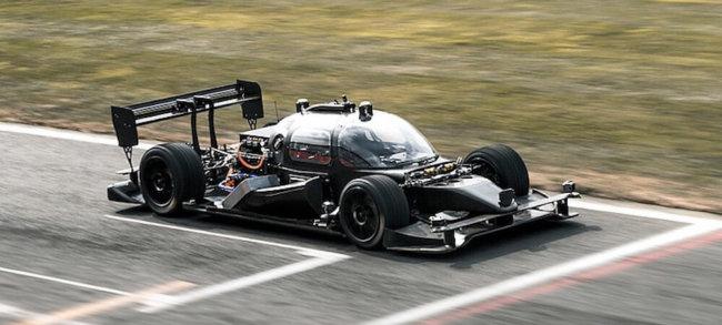 Прошли испытания DevBot. Первого самоуправляемого гоночного автомобиля