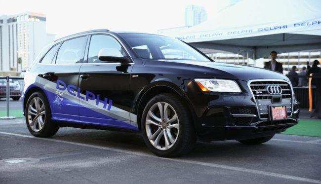Delphi начали испытания сервиса такси с самоуправляемыми авто