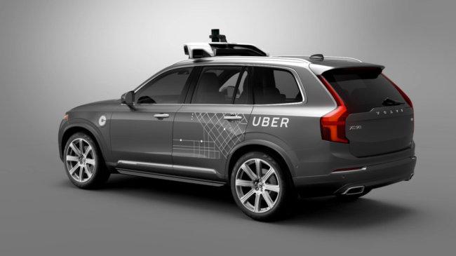 Uber впервые позволит пассажирам вызывать беспилотные такси