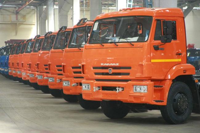 КАМАЗ выпустит «умные» грузовики в 2017 году