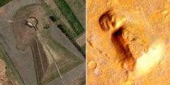 На марсе обнаружен объект, очень похожий на земной