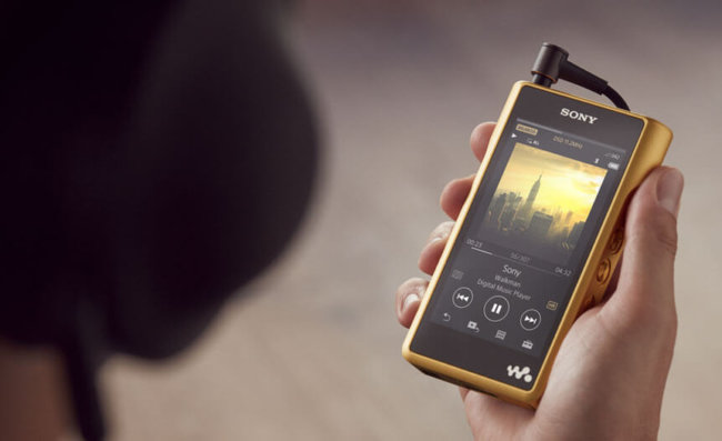Sony представила плеер Walkman Signature стоимостью 3200 долларов