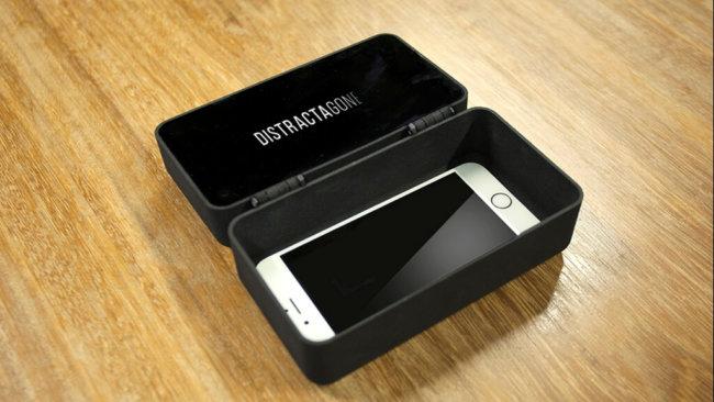DistractaGone – верный способ оторвать человека от своего смартфона