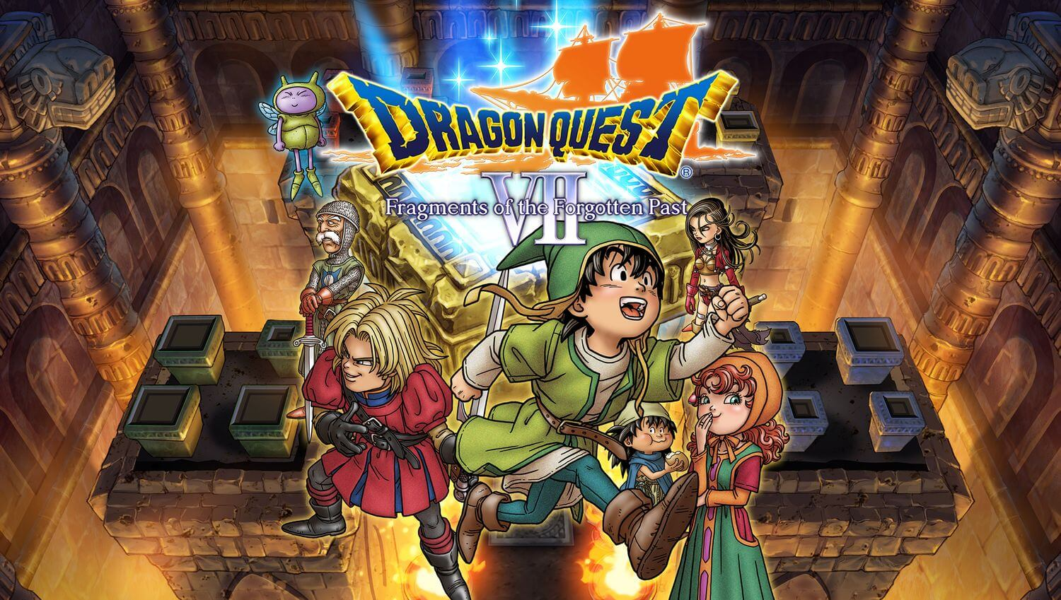 Обзор игры Dragon Quest VII: Fragments of the Forgotten Past