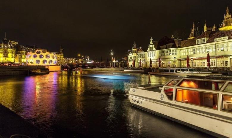 В Амстердаме опробуют беспилотные лодки
