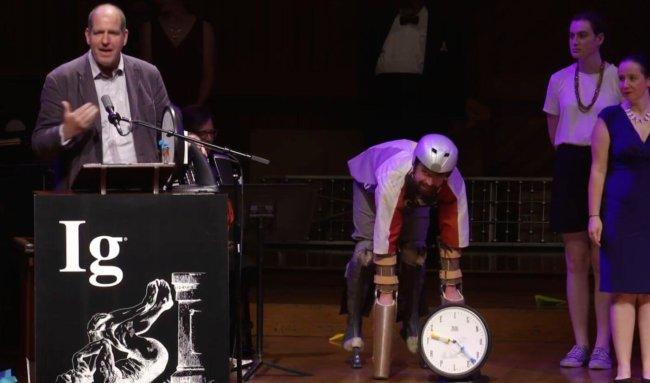 В США завершилась церемония вручения Шнобелевской премии