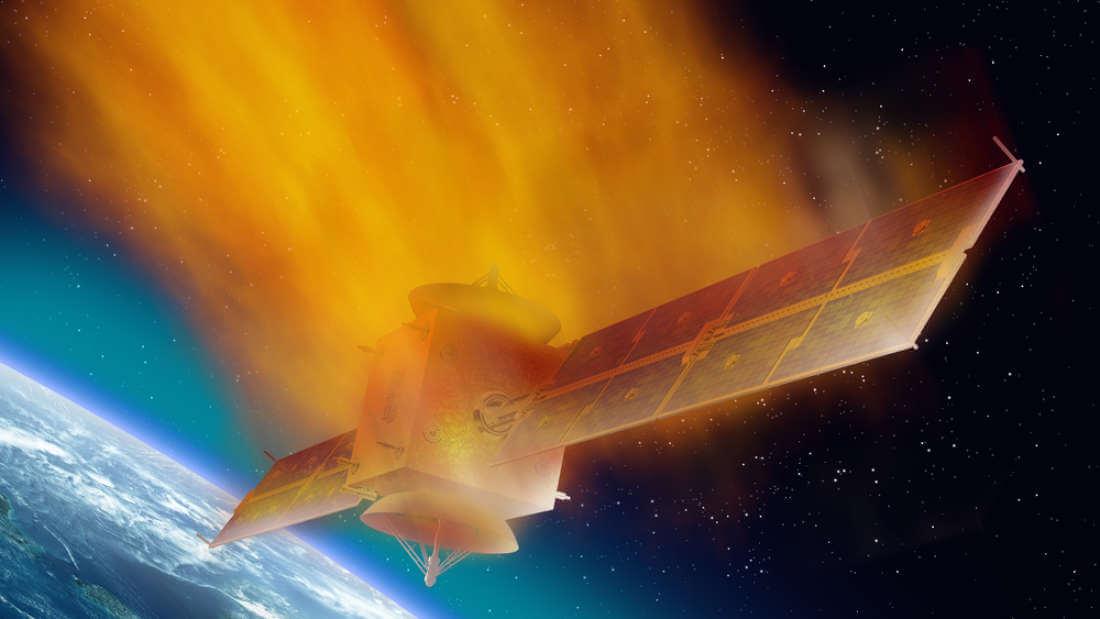 Опотере контроля над орбитальной станцией «Тяьгунь-1» сказал КНР