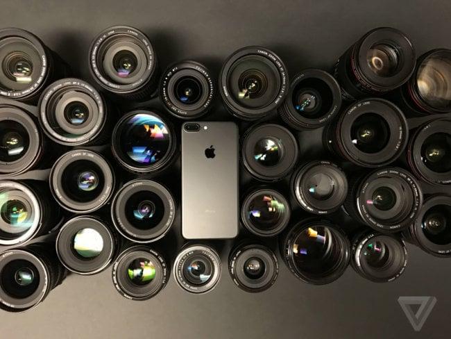 Сравнение камер оригинального iPhone и iPhone 7 Plus
