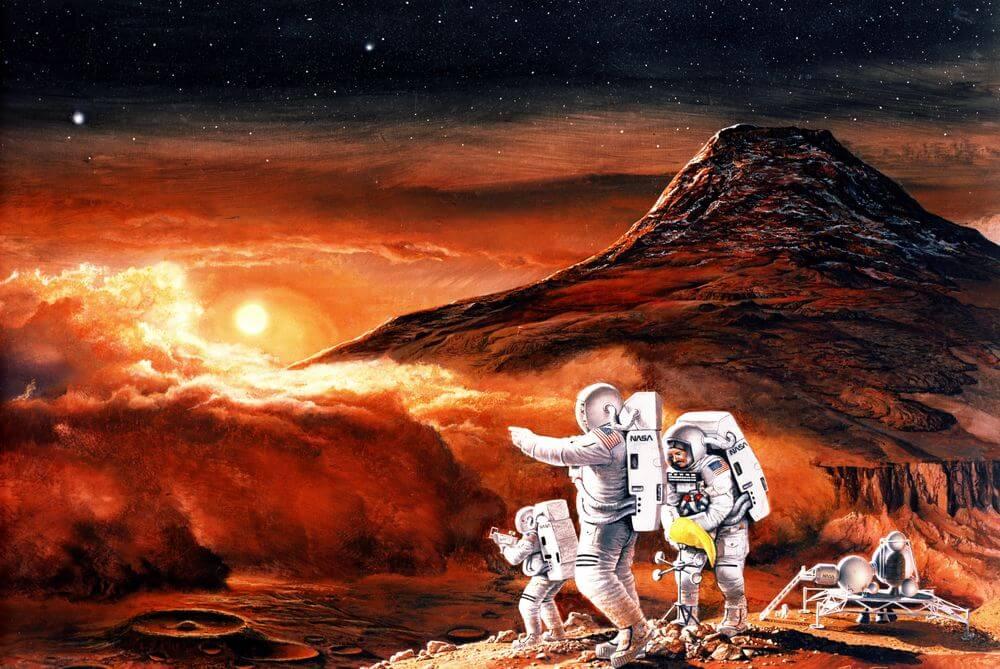 Необходимо найти жизнь на Марсе