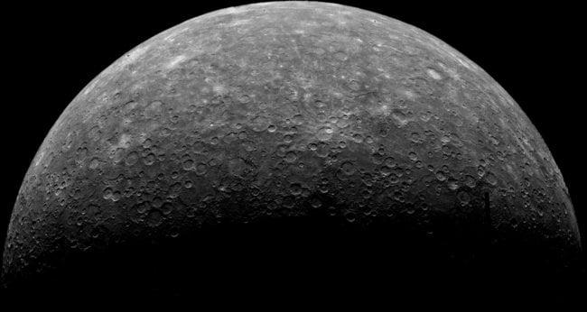 Тектоническая активность выявлена на Меркурии