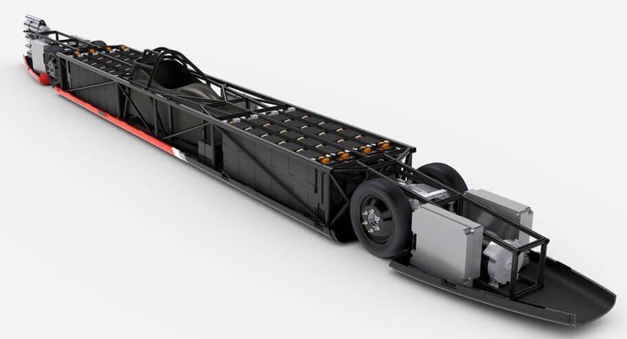 Компания Вентури разогнала собственный электрокар дорекордных 576 километров вчас