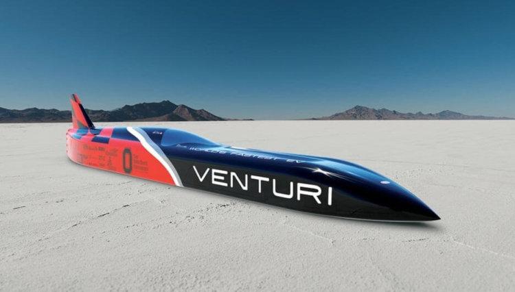 Компания Venturi установила новый мировой скорости среди электрокаров