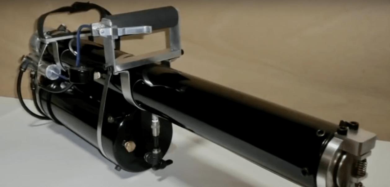 Японский изобретатель собрал смертоносный водомет