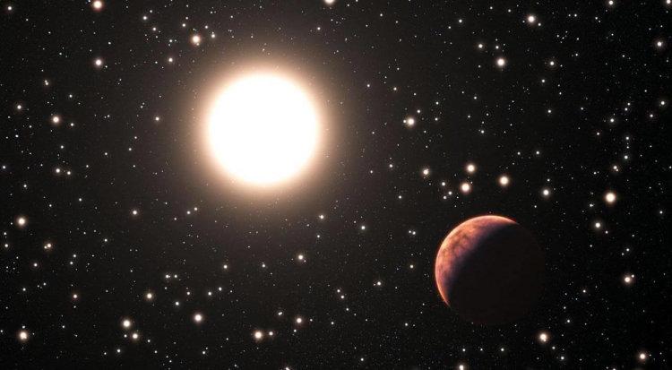 Астрономы обнаружили планету с периодом обращения 20 тысяч лет