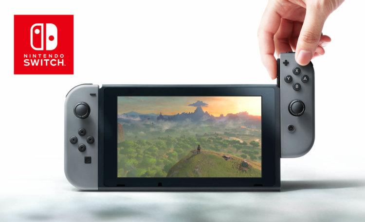 Nintendo представила свою новую игровую консоль Nintendo Switch