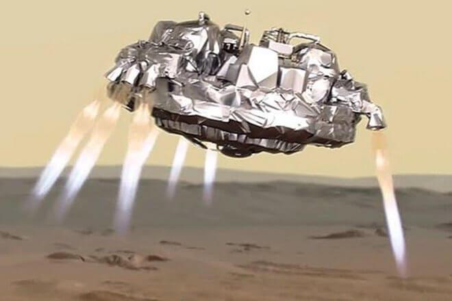 ЕКА показали фотографии разбитого модуля Schiaparelli