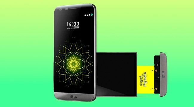 Производители отказались отвыпуска модульного телефона LGG5