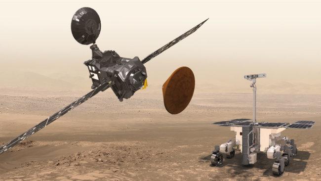 Десантный модуль миссии «ЭкзоМарс-2016» благополучно отделился оторбитального