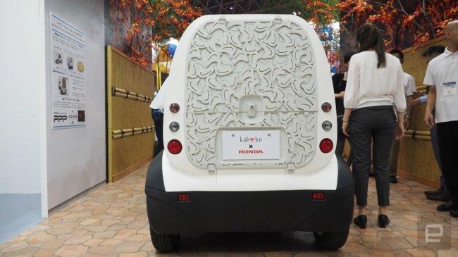 Honda напечатала электромобиль на 3D-принтере (2 ыото)