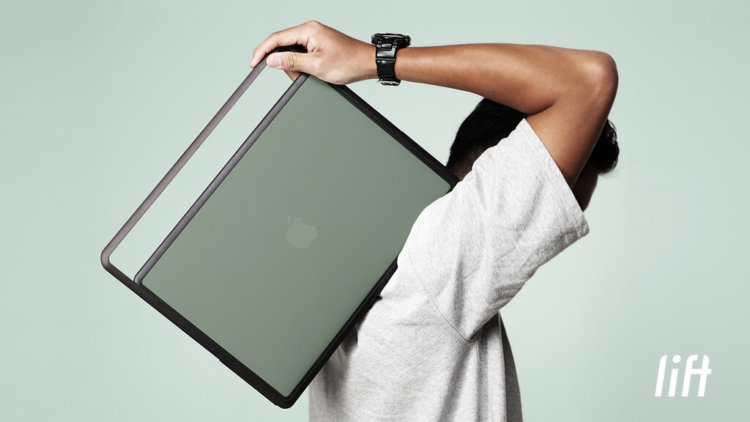 Lift – удивительно практичная переноска для MacBook