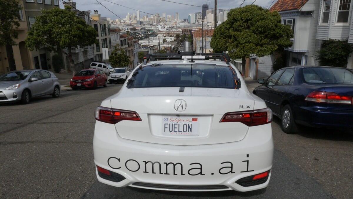 Автопилот COMMA ONE не появится в продаже
