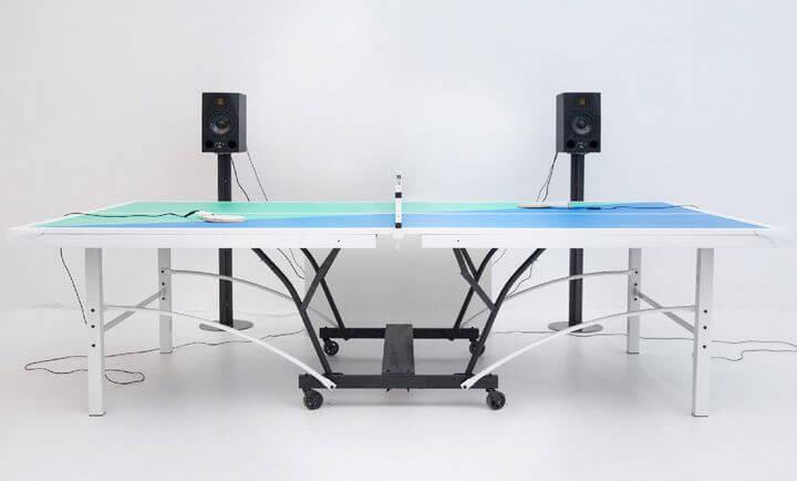 Ping Pong FM – музыкальный стол для игры в настольный теннис