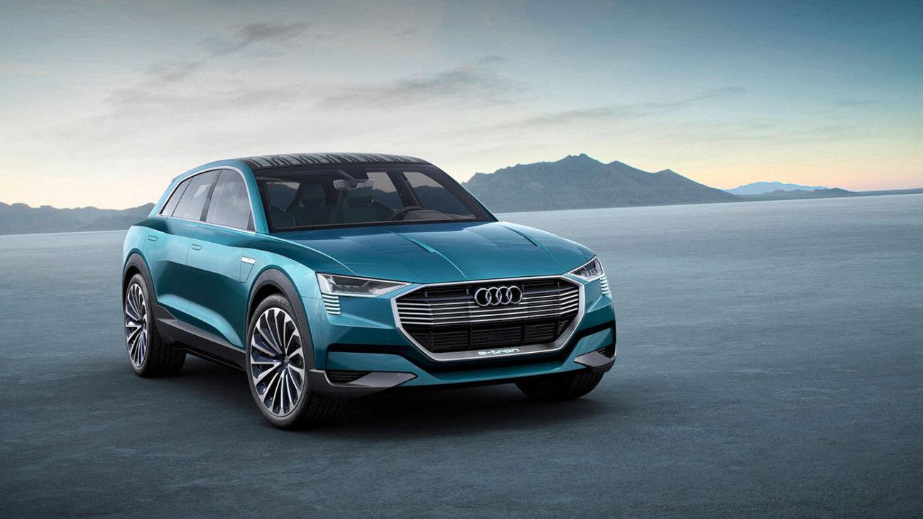 Audi работает над новой линейкой электромобилей