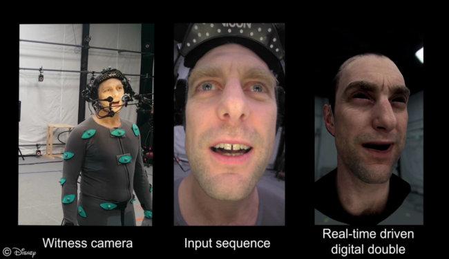 Инженеры Disney усовершенствовали технологию захвата мимики