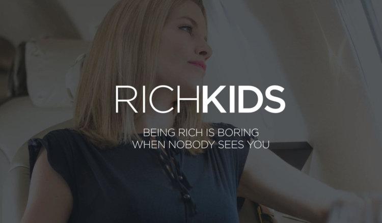 Rich Kids – эксклюзивная социальная сеть для богатых детей