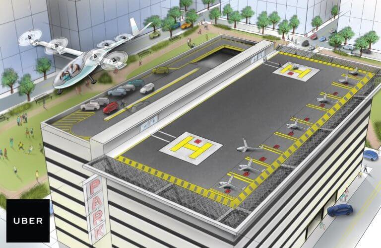 Uber обещает своим клиентам летающие автомобили в ближайшие 10 лет