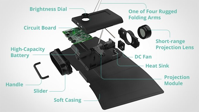 SPUD – необычный 24-дюймовый складной монитор