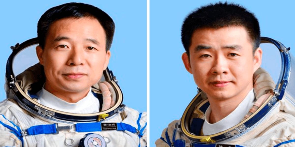 Китайская спускаемая капсула с космонавтами успешно приземлилась