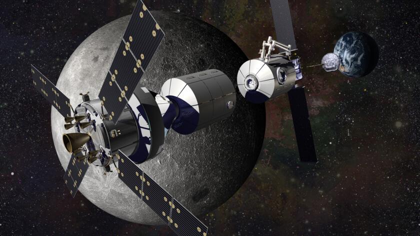 В NASA подумывают о международной базе на орбите Луны