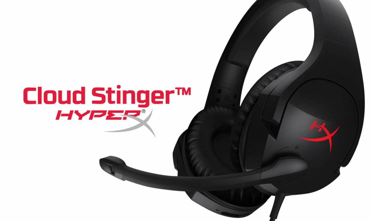 Представлена игровая гарнитура HYPERX CLOUD STINGER